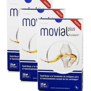 Promoción Movial Plus Fluidart 3 Cajas x 28 Cápsulas