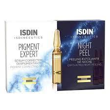 Isdinceutics Pigment Expert 10 Ampollas + Isdinceutics  Night Peel 10 Ampollas