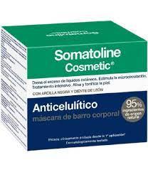 Somatoline Anticelulitico Cascara de Barro Corporal 500g