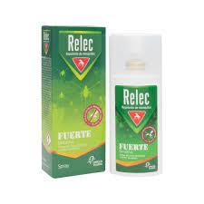 Relec Fuerte Sensitive Familiar Vaporizador Repelente Insectos 50ml