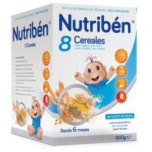 Nutribén 8 Cereales, 600g