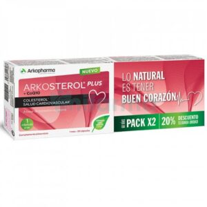Arkosterol Plus +CoQ10 Pack 60 Cápsulas Arkopharma